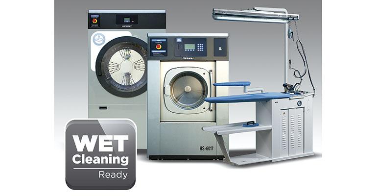 La serie de lavadoras Wet Cleaning, de Girbau Group