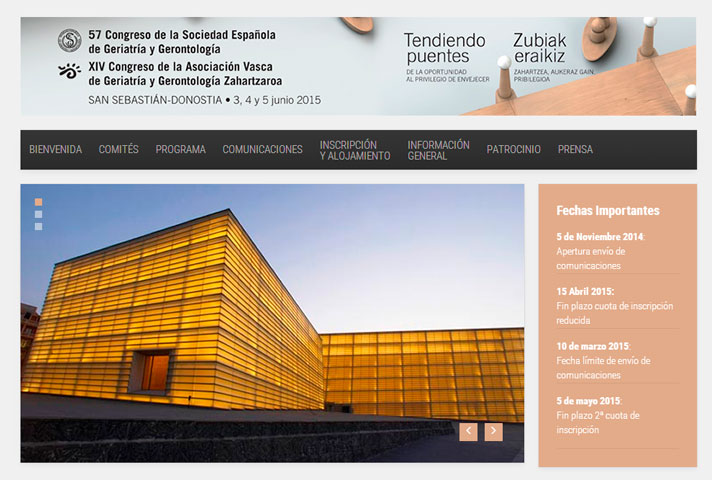 57 Congreso de la Sociedad Española de Geriatría y Gerontología