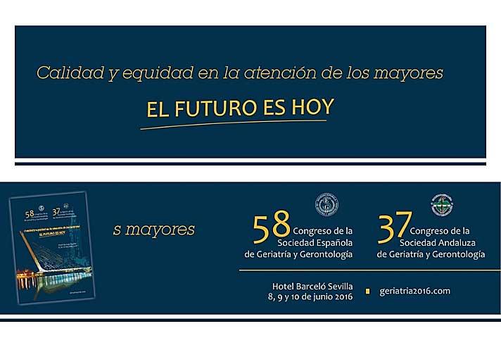 58 Congreso de la Sociedad Española de Geriatría y Gerontología