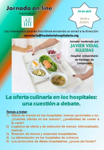 Jornada sobre la oferta culinaria en los hospitales
