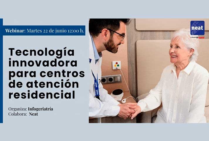 Tecnología innovadora para centros de atención residencial
