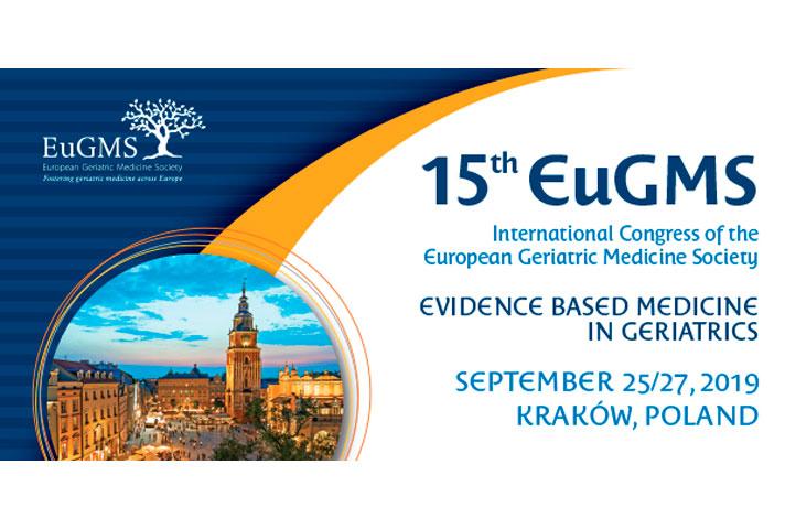 15 Congreso de la Sociedad Europea de Geriatría