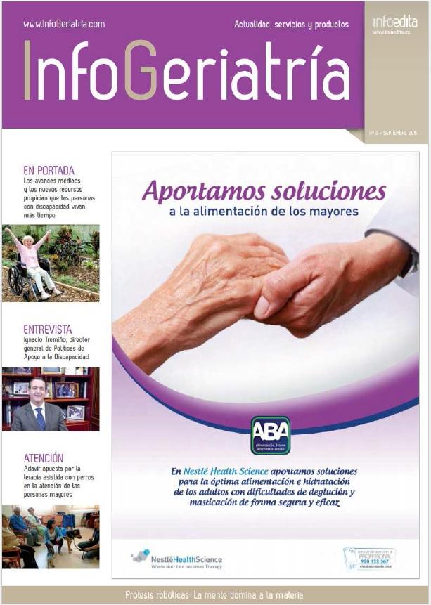 InfoGeriatría Septiembre 2015