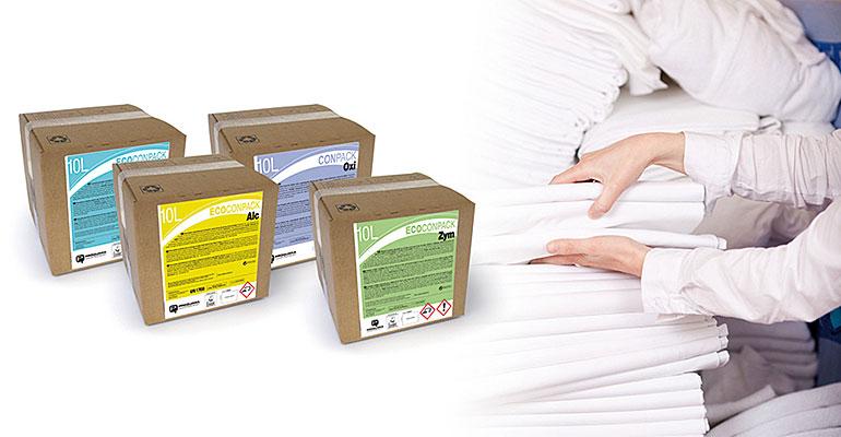 Ecoconpack Lavandería, la solución más ecológica para el lavado de ropa