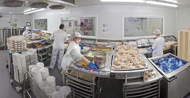 SERHS, especialistas en alimentación en residencias y hospitales