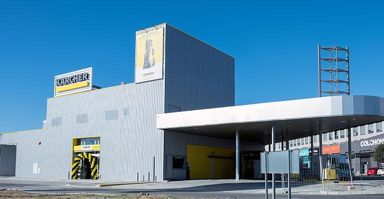El nuevo Kärcher Center en Tomares, Sevilla.