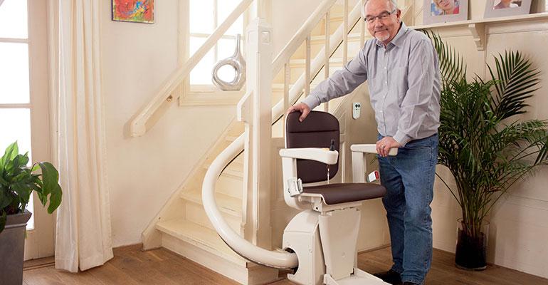 silla salvaescaleras Unum