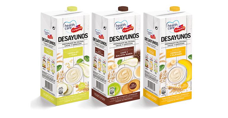 Campofrío Healthcare presenta la primera línea de desayunos listos para consumir