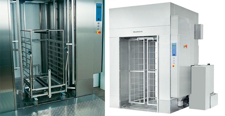 Wexiödisk WD-18: un sistema de lavado para grandes colectividades