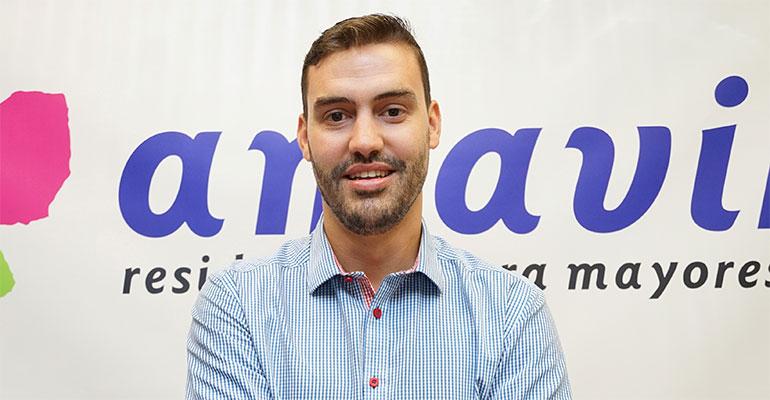 Adrián de Paz, Responsable Asistencial de Amavir
