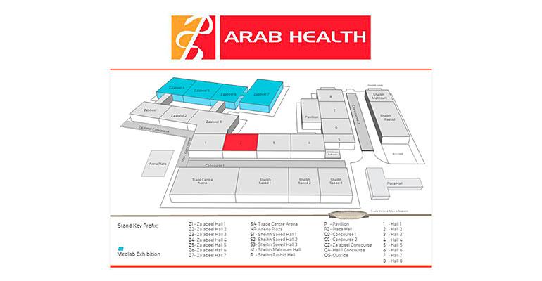 Ibernex en Feria Arab Health 2016