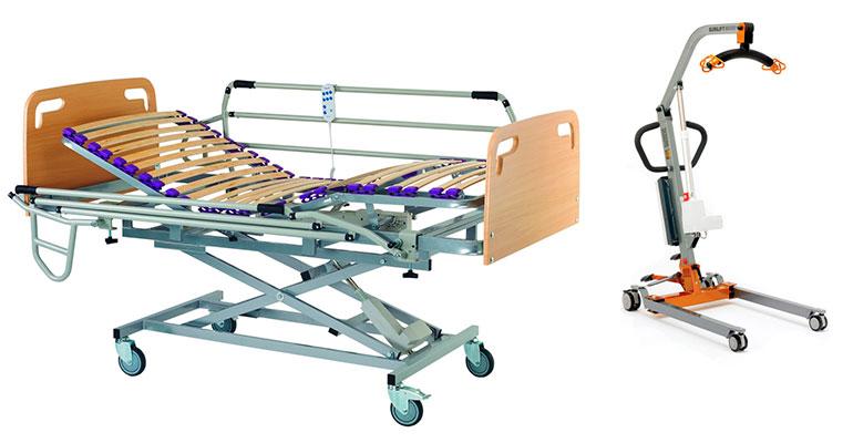 SIAC presenta su gama de camas geriátricas y ayudas técnicas
