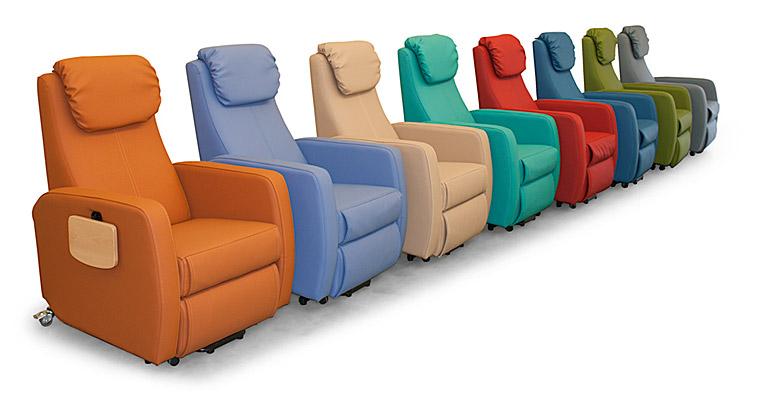 Una amplia variedad de sillones para geriátricos