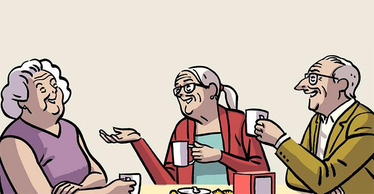 Detalle del cómic ilustrado por Paco Roca