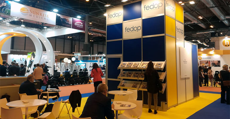 Stand de FEDOP en Orto Medical Care 2018.