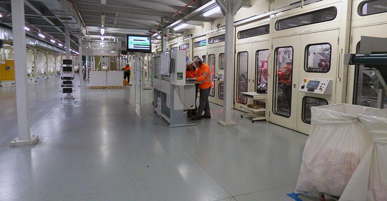 Interior de las nuevas instalaciones de Indas en Novés (Toledo)