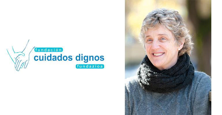 Dra. Ana Mª Urrutia Beaskoa, médico geriatra y presidenta de la Fundación Cuidados Dignos.