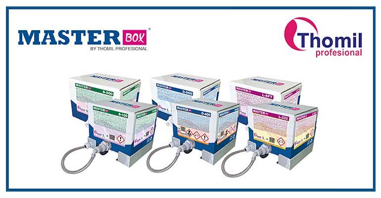 gama de productos ultraconcentrados MasterBox