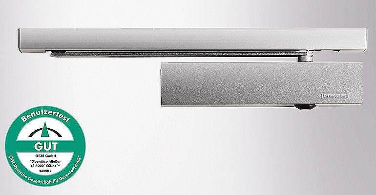 GEZE presenta un cierrapuertas ideal para espacios sin barreras arquitectónicas