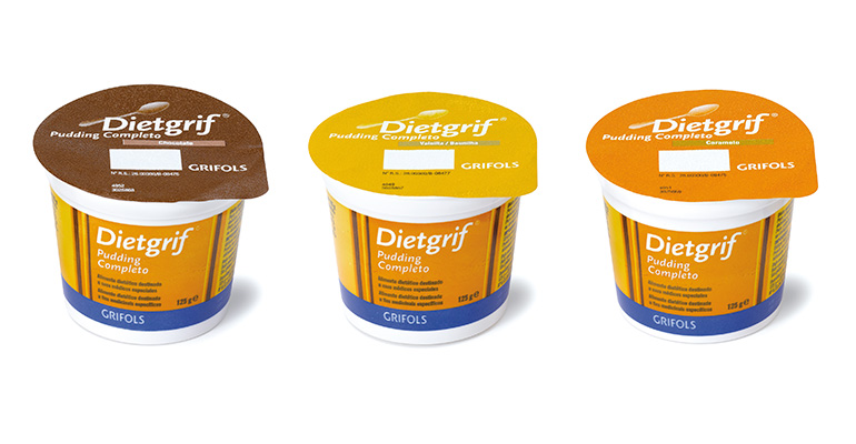 Dietgrif pudding completo
