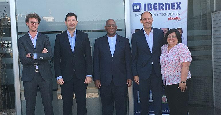 Ibernex y embajador de Sudáfrica