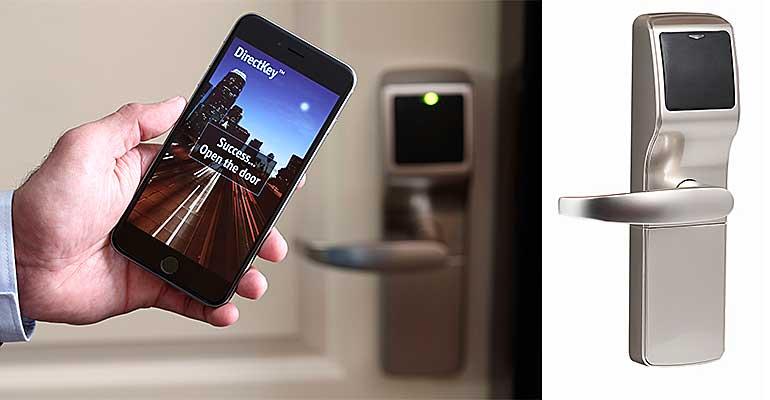 Onity desvela la nueva serie de cerraduras Trillium y el sistema de llave móvil DirectKey