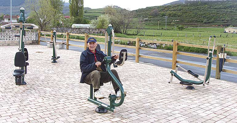 Parkesa: especialistas en áreas exteriores de ejercicio