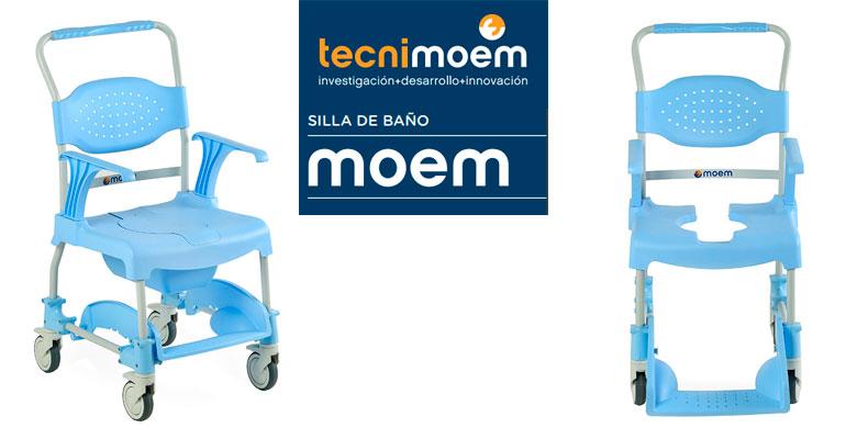 Tecnimoem presenta la silla de baño Moem