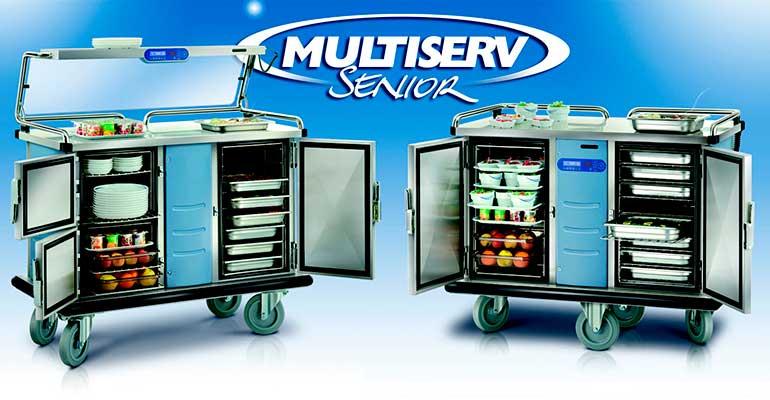 Carros Multiserv, de Socamel, indicados para hospitales y geriátricos