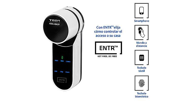ENTR TESA ASSA ABLOY, solución de seguridad inteligente y accesible