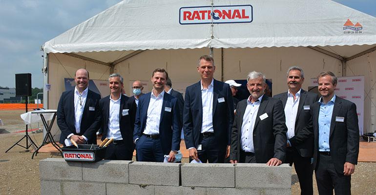 Rational empieza la construcción de una nueva planta en Wittenheim