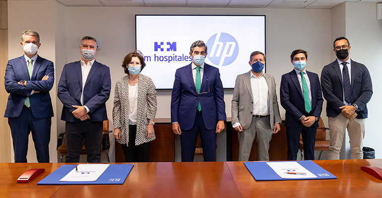 HP y HM Hospitales