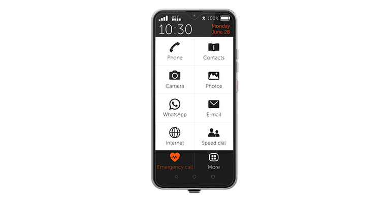 """Nuevo smartphone para personas mayores """"Made in Germany"""""""