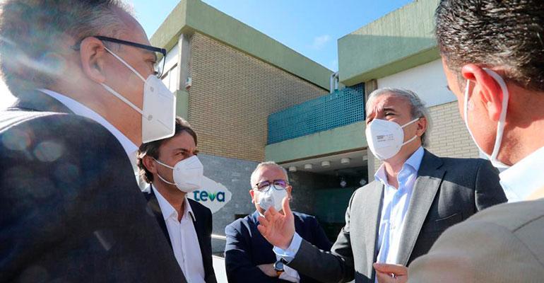 TEVA invertirá 40 millones de euros en su planta de Zaragoza