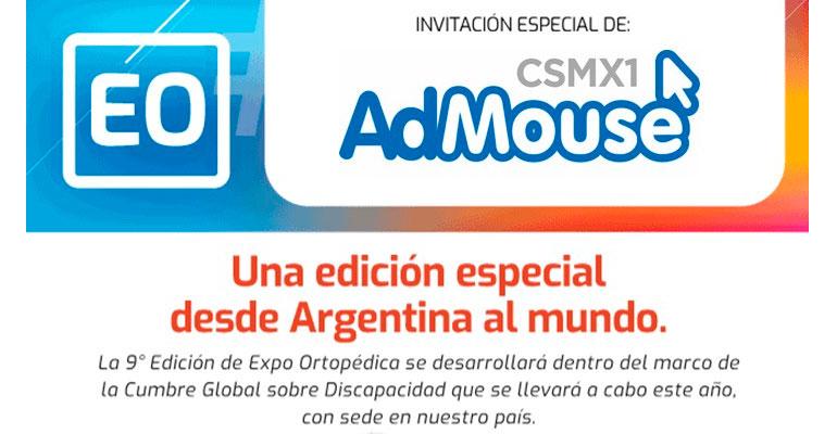Admouse participará en la Cumbre Global de Discapacidad
