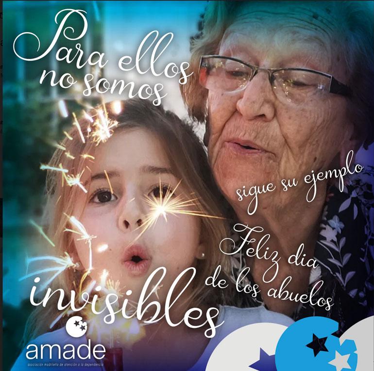 Amade celebra el día de los abuelos pidiendo visibilidad para las personas mayores