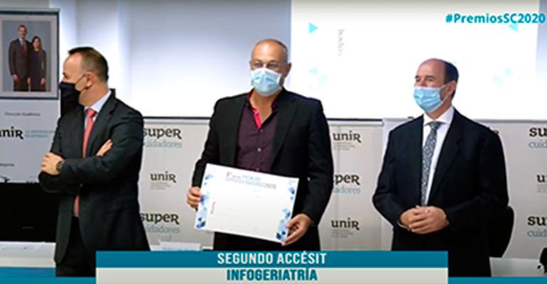 Infogeriatría obtiene un Accésit en la sexta edición de los Premios Supercuidadores