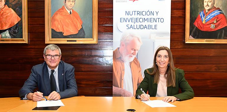 Acuerdo entre FontActiv y la Universidad de Barcelona para investigar sobre envejecimiento saludable