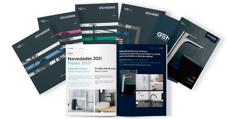 Genebre celebra su 40 aniversario con la presentación de sus nuevos catálogos 2021