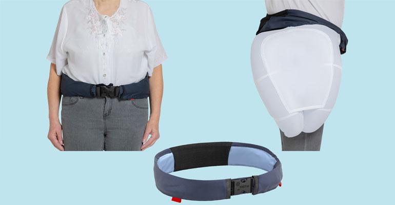 Hip´Guard, el cinturón airbag que protege las caderas de los mayores