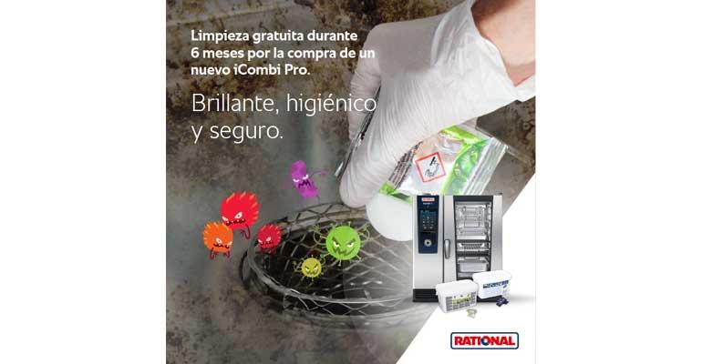 Rational regala 6 meses de limpieza con el nuevo iCombi Pro