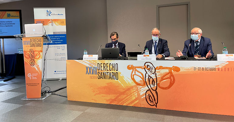 La transformación digital del Sistema Sanitario para la incorporación de la Medicina Personalizada de Precisión, a debate en el XXVII Congreso de Derecho Sanitario