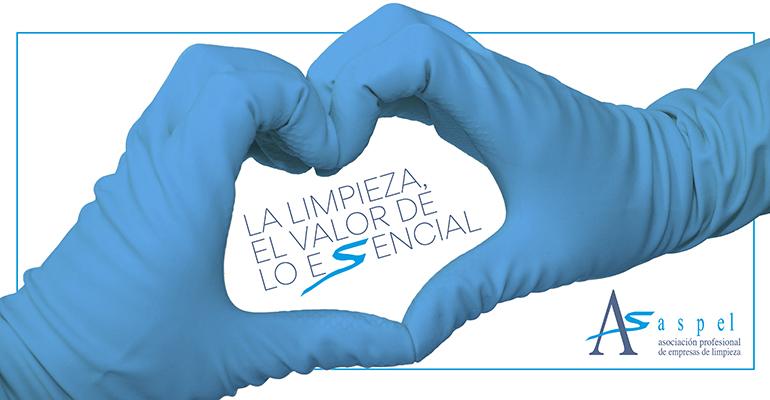 Aspel reitera la importancia del sector de la limpieza para contener la segunda ola del virus y mantener la seguridad y salud de la población