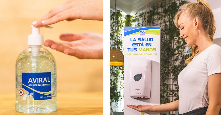 Vijusa presenta una serie de productos de higiene para proteger contra el Covid-19