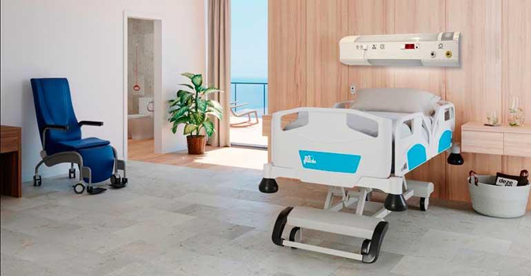Ibernex lanza los nuevos cabeceros hospitalarios inalámbricos Ardys-NX