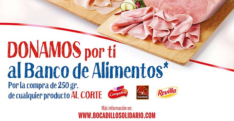 Campofrío donará productos al Banco de Alimentos de Burgos
