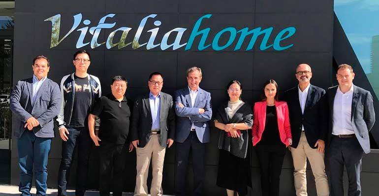 Una delegación china visita Vitalia Home