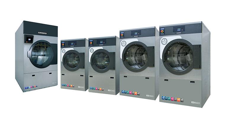 Secadoras ED de Girbau: rapidez y eficiencia llevada al extremo