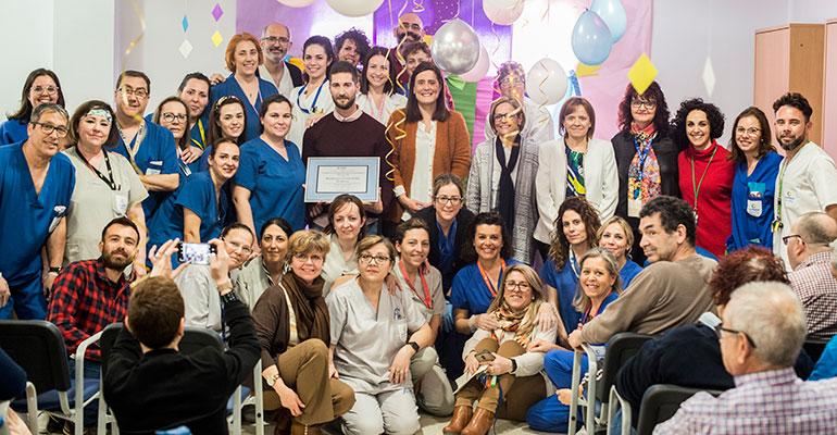 Ilunion Sociosanitario premia la residencia de Baena por ser la que más ha reducido la accidentalidad laboral en 2019