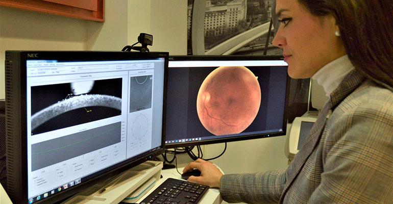 Fotografiar la retina de los pacientes, una solución para descongestionar los centros sanitarios